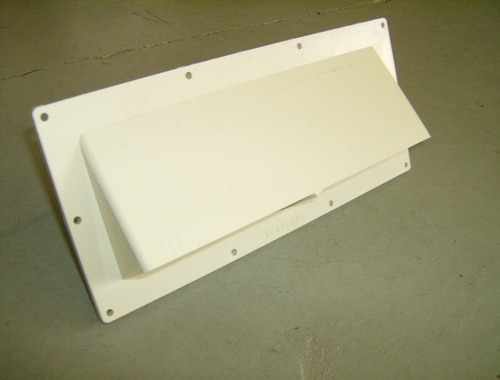 Weatherproof Range Hood Vent With Damper For Mobile Homes