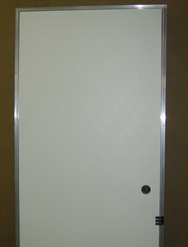 doors mobile home outswing door blank white outside brown inside