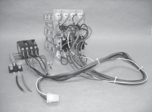 heater kit matrix for mobile home self-contained package a/c unit