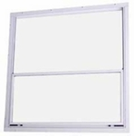 Interior Storm Window (white) 22'' x 27'' for mobile homes